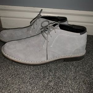 Kenneth Cole Reaction Shoes - Kenneth Cole Suede Chukkas worn 1x